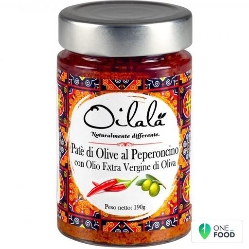 Oliven Chili Pate Mit Nativem Olivenol Extra 1 X 190 G